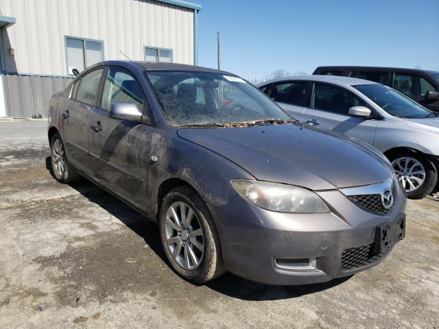 Salvage cars for sale from Copart Chambersburg, PA: 2008 Mazda 3 I