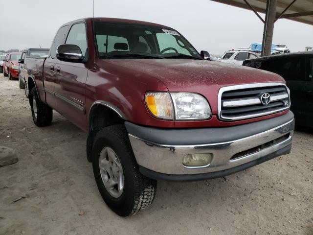 Salvage cars for sale from Copart Temple, TX: 2002 Toyota Tundra ACC