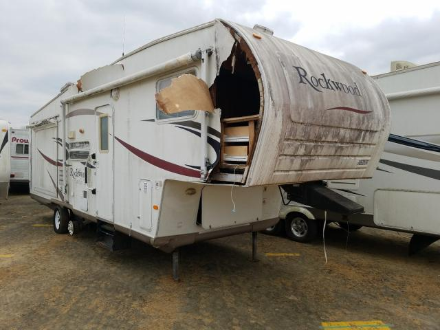 Rockwood salvage cars for sale: 2006 Rockwood Fifthwheel