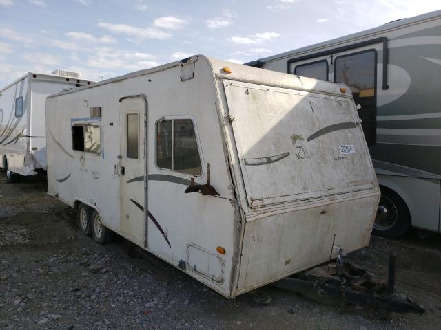 Jayco Travel Trailer salvage cars for sale: 2002 Jayco Travel Trailer