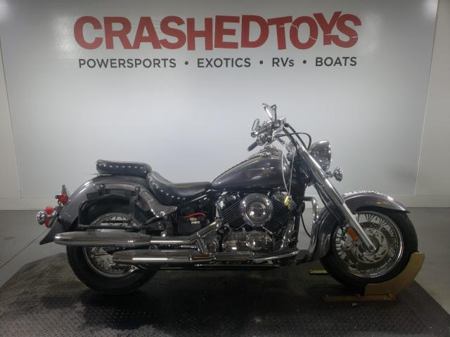 Salvage cars for sale from Copart Fort Pierce, FL: 2007 Yamaha Vstar