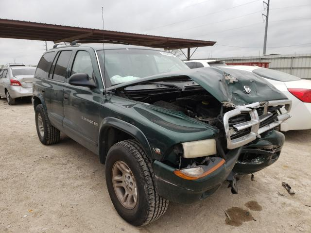 Salvage cars for sale from Copart Temple, TX: 2001 Dodge Durango