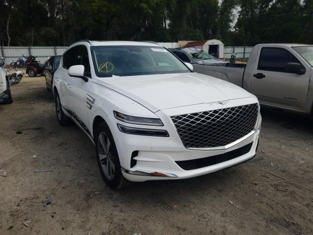 Salvage cars for sale from Copart Ocala, FL: 2021 Genesis GV80 Base