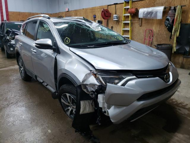Salvage cars for sale from Copart Kincheloe, MI: 2017 Toyota Rav4 XLE