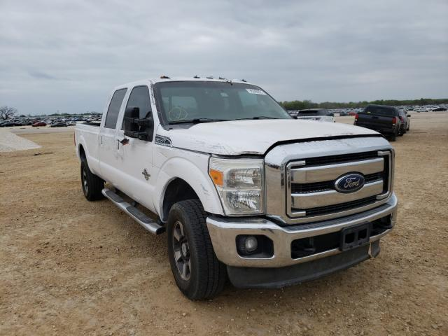 Salvage cars for sale from Copart San Antonio, TX: 2013 Ford F350 Super