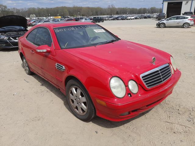 Salvage cars for sale at Conway, AR auction: 2001 Mercedes-Benz CLK 320