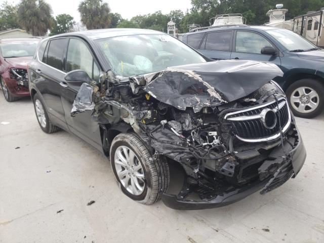 Salvage cars for sale from Copart Riverview, FL: 2020 Buick Envision P