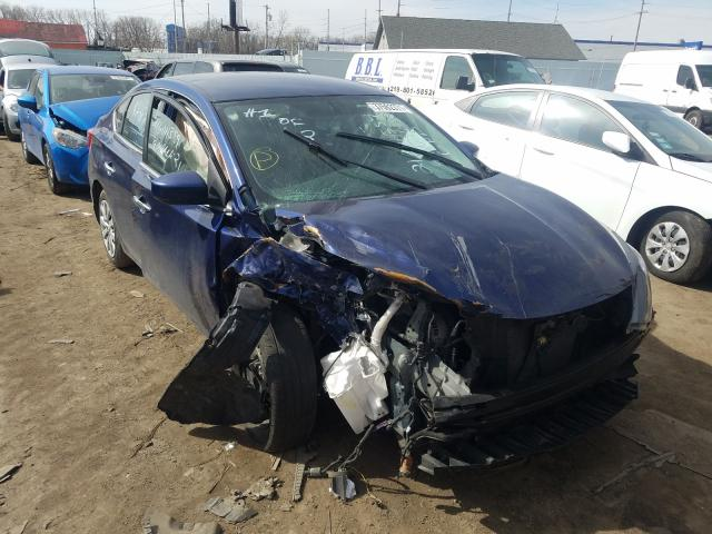 Salvage cars for sale from Copart Hammond, IN: 2016 Nissan Sentra S