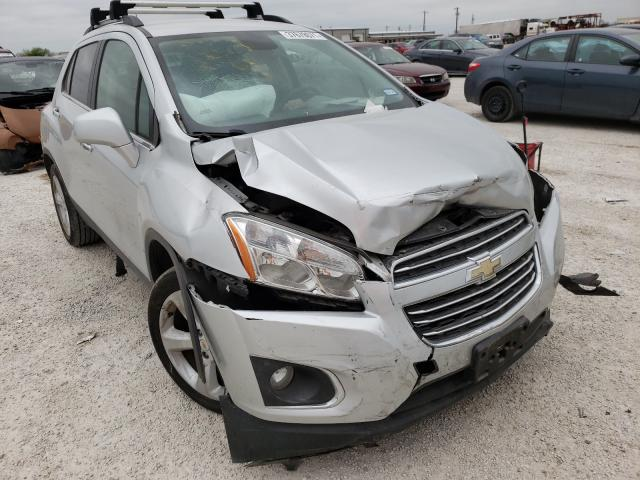 Salvage cars for sale from Copart San Antonio, TX: 2015 Chevrolet Trax LTZ
