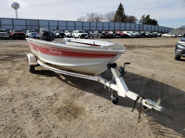 Salvage cars for sale from Copart Avon, MN: 1994 Alumacraft Boat