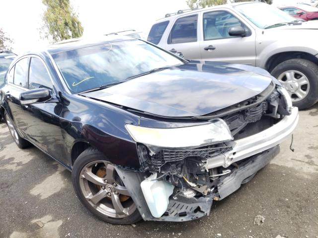 Salvage cars for sale from Copart Martinez, CA: 2010 Acura TL