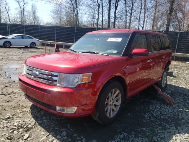 2010 FORD FLEX - Left Front View