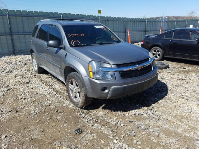 Salvage cars for sale from Copart Kansas City, KS: 2005 Chevrolet Equinox LT