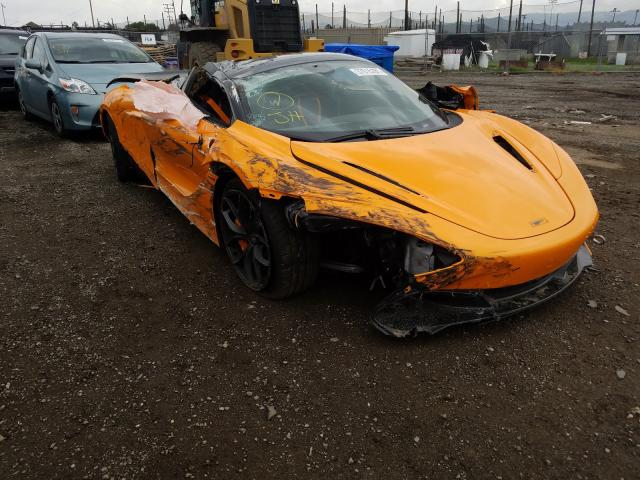 Mclaren Automotive 720S salvage cars for sale: 2020 Mclaren Automotive 720S