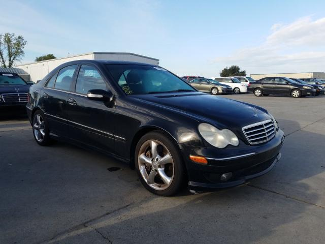 Salvage cars for sale from Copart Sacramento, CA: 2006 Mercedes-Benz C 230