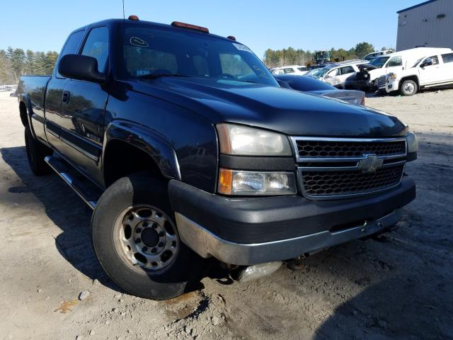 Salvage cars for sale from Copart Mendon, MA: 2005 Chevrolet Silverado