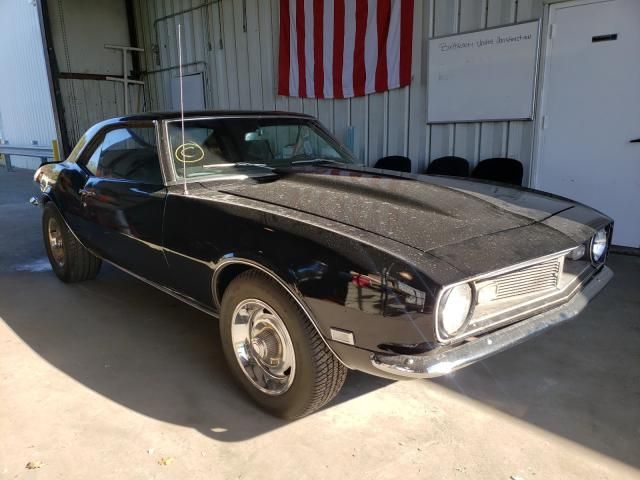 Salvage cars for sale from Copart Brookhaven, NY: 1968 Chevrolet Camaro