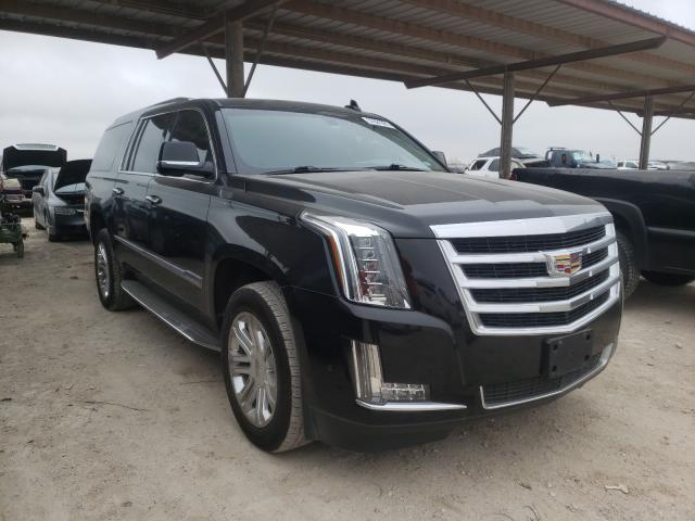 Salvage cars for sale from Copart Temple, TX: 2018 Cadillac Escalade E