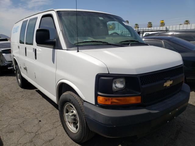 Salvage cars for sale from Copart Colton, CA: 2014 Chevrolet Express G2