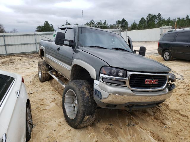 Salvage cars for sale from Copart Gaston, SC: 2000 GMC New Sierra