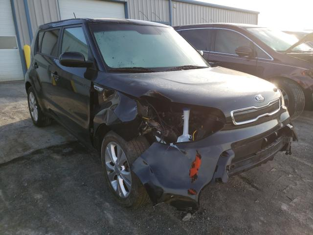 Salvage cars for sale from Copart Chambersburg, PA: 2015 KIA Soul +