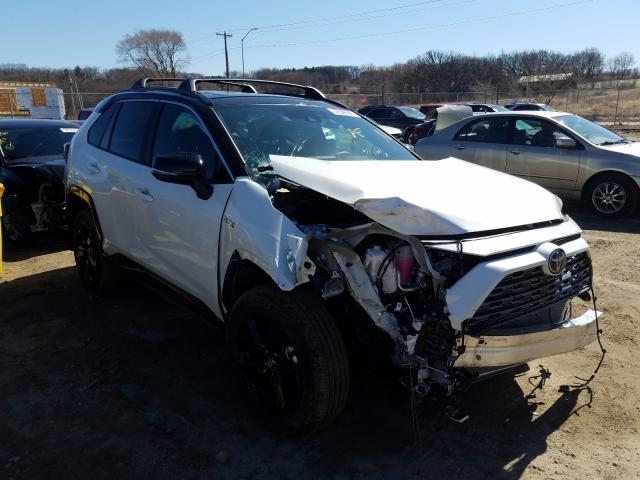 Salvage cars for sale from Copart Madison, WI: 2020 Toyota Rav4 XSE