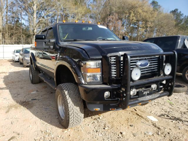 Salvage cars for sale from Copart Austell, GA: 2008 Ford F250 Super
