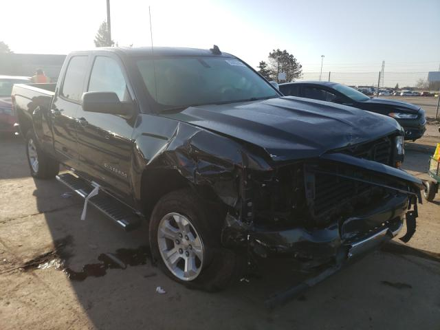 Salvage cars for sale from Copart Woodhaven, MI: 2019 Chevrolet Silverado
