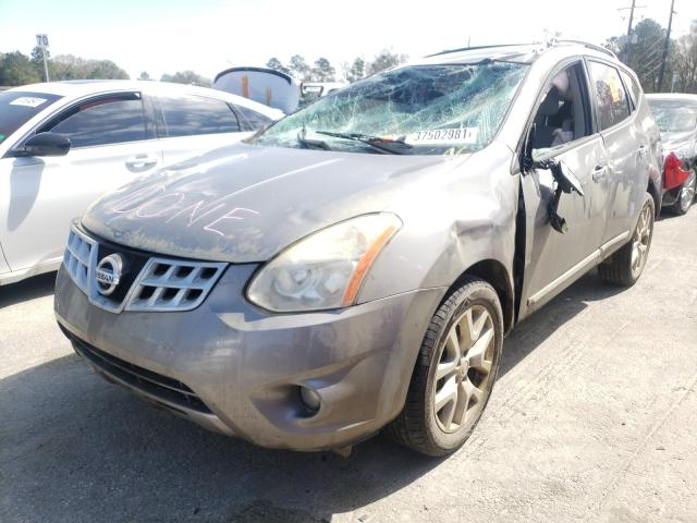 2013 NISSAN ROGUE S - Left Front View