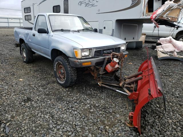 Salvage cars for sale from Copart Airway Heights, WA: 1991 Toyota Pickup 1/2
