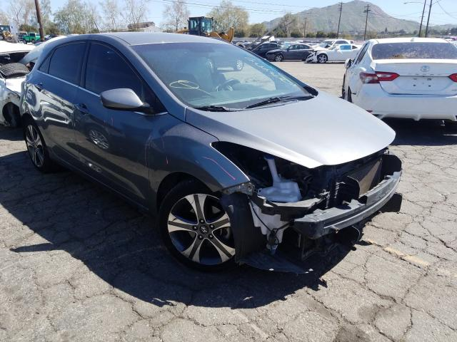 Salvage cars for sale from Copart Colton, CA: 2017 Hyundai Elantra GT