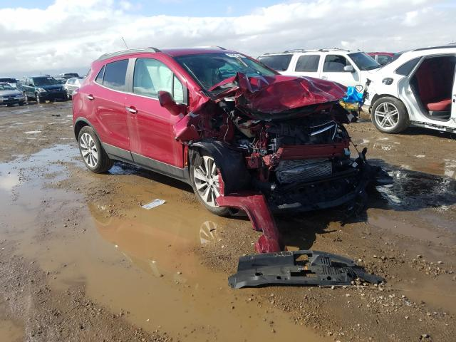 Salvage cars for sale from Copart Brighton, CO: 2020 Buick Encore PRE