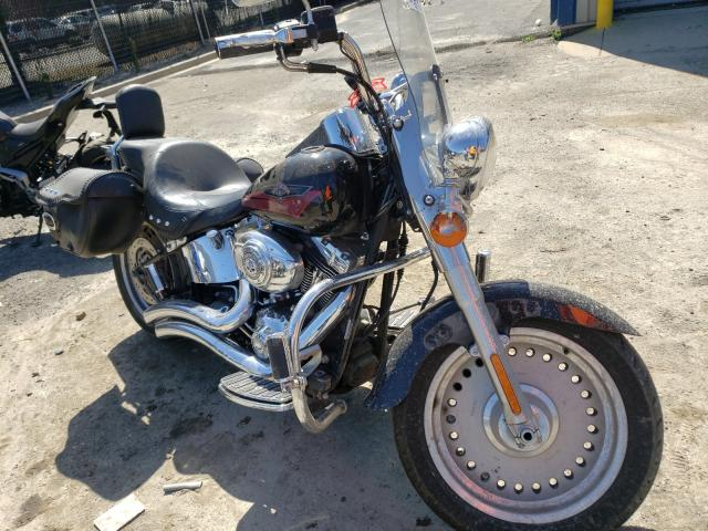 Salvage cars for sale from Copart Waldorf, MD: 2007 Harley-Davidson Flstf