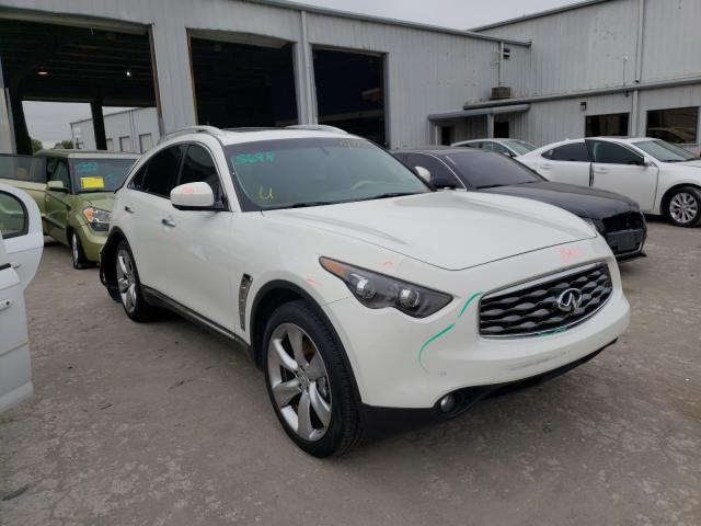 Infiniti FX50 salvage cars for sale: 2009 Infiniti FX50
