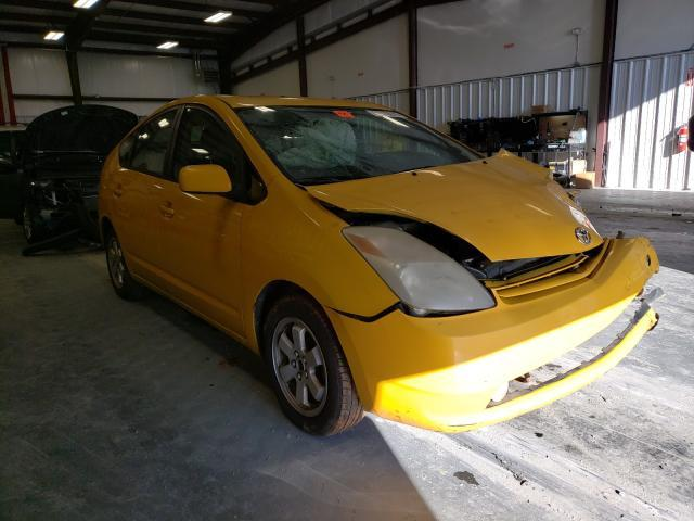 Salvage cars for sale from Copart Spartanburg, SC: 2005 Toyota Prius