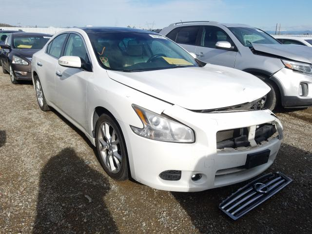 Salvage cars for sale from Copart Anderson, CA: 2012 Nissan Maxima S