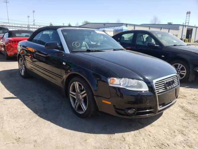 Salvage cars for sale from Copart Finksburg, MD: 2008 Audi A4 2.0T CA
