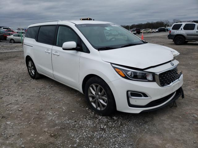 Salvage cars for sale from Copart Madisonville, TN: 2020 KIA Sedona LX