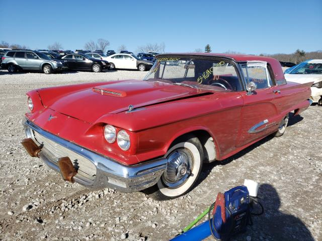FORD TBIRD 1959 1
