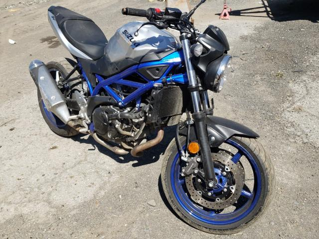 Salvage cars for sale from Copart Waldorf, MD: 2020 Suzuki SV650