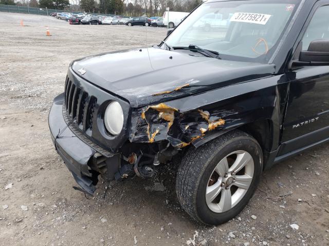 2012 Jeep PATRIOT   Vin: 1C4NJRBB6CD608527