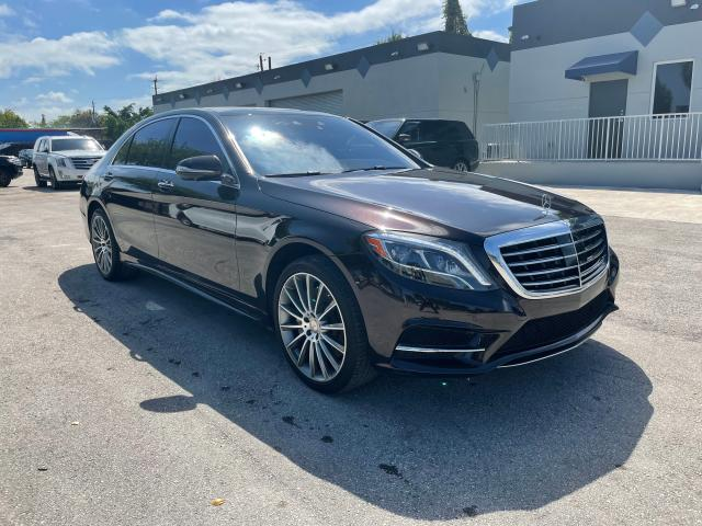 Salvage cars for sale from Copart Opa Locka, FL: 2015 Mercedes-Benz S 550