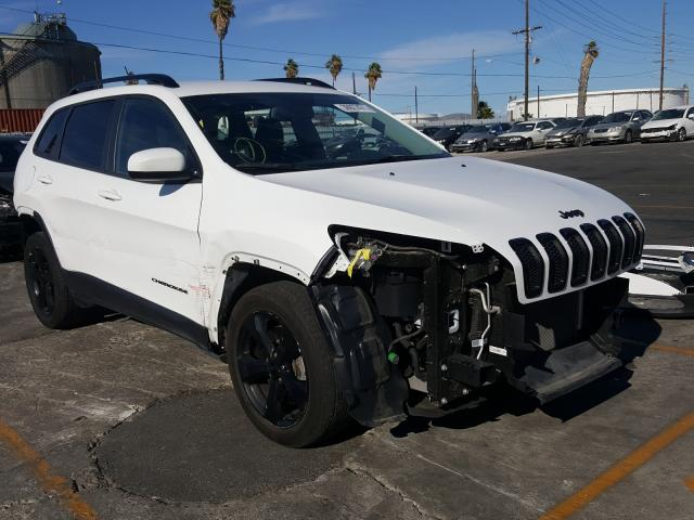 Salvage cars for sale from Copart Wilmington, CA: 2018 Jeep Cherokee L