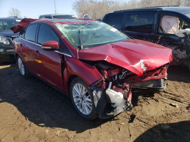 Salvage cars for sale from Copart Pekin, IL: 2017 Ford Focus Titanium