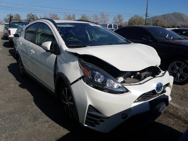 Salvage cars for sale from Copart Colton, CA: 2019 Toyota Prius C