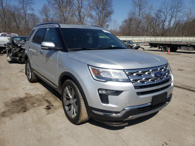 Salvage cars for sale from Copart Ellwood City, PA: 2018 Ford Explorer L