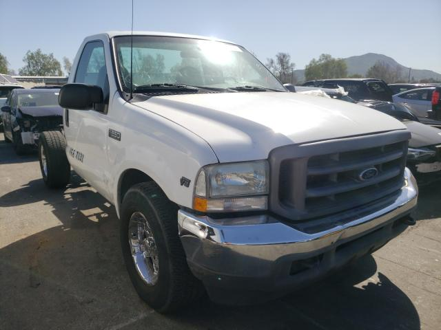 Salvage cars for sale from Copart Colton, CA: 2002 Ford F250 Super