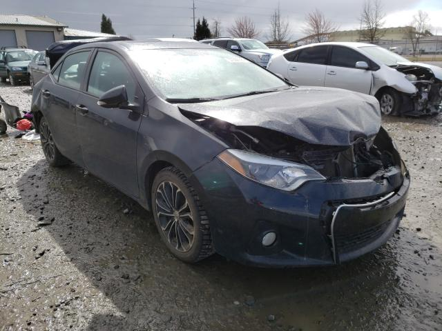 Salvage cars for sale from Copart Eugene, OR: 2015 Toyota Corolla L