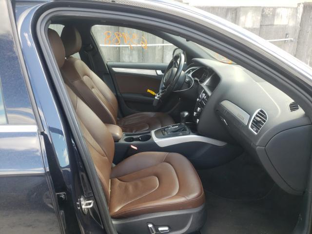 2016 AUDI A4 PREMIUM - Left Rear View