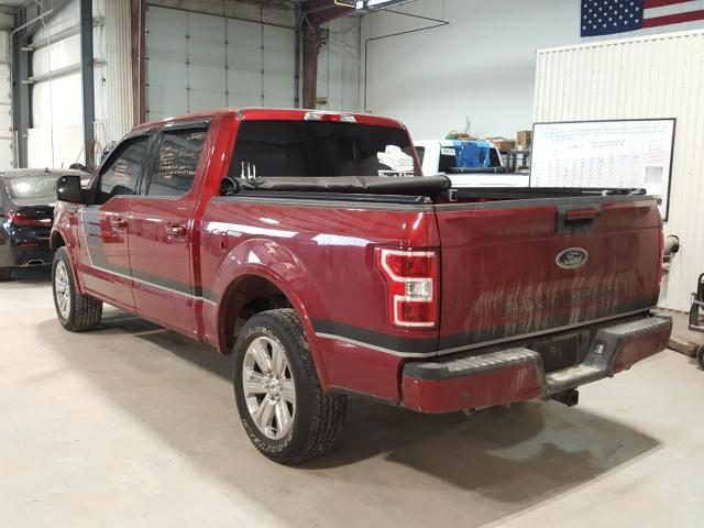 2018 FORD F150 SUPER 1FTEW1E53JFE28092